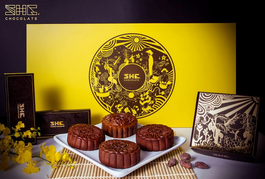 SHE Chocolate Mooncake