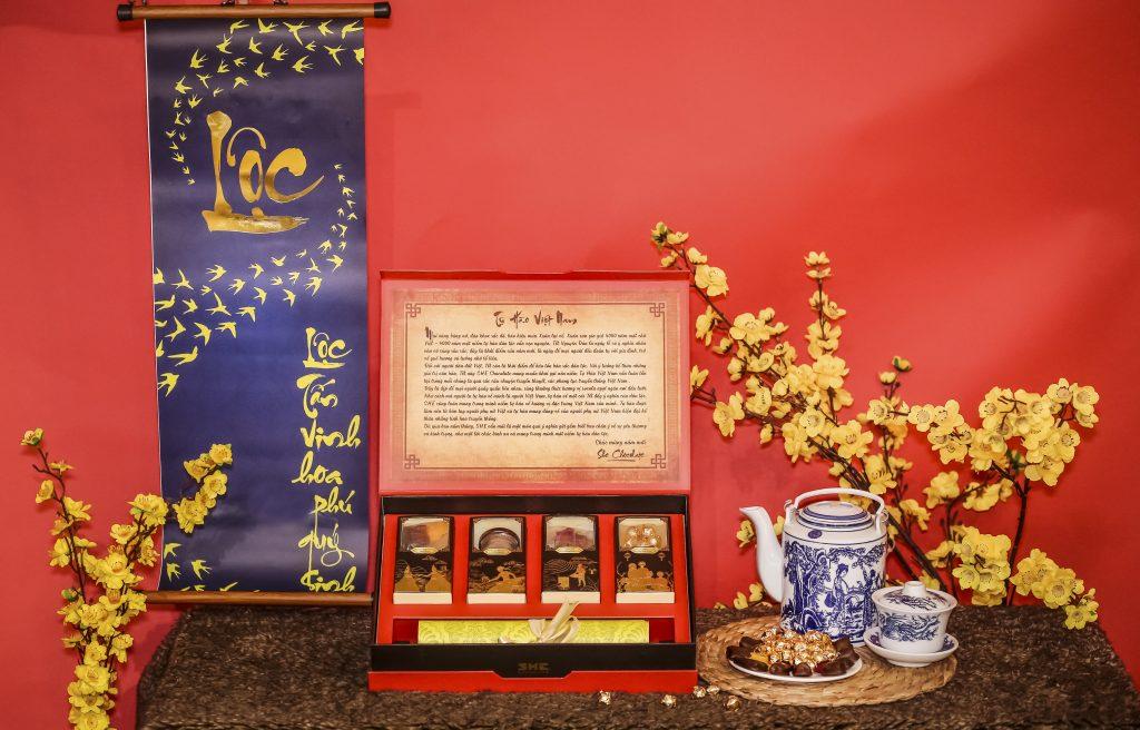 Hộp quà tết Lộc Xuân 2020 SHE Chocolate