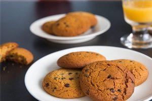 Crispy coffee-chocolate cookies recipe