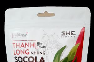 Thanh long nhúng Chocolate