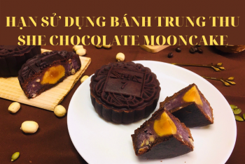 Tìm hiểu về hạn sử dụng bánh trung thu SHE Chocolate Mooncake